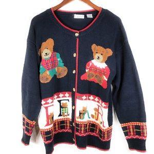 Gallagher Vintage Teddy Bear Cardigan